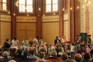 FZ Abentuerland feiert mit Lied